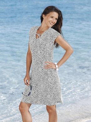 Sommerkleid - schwarz-weiß