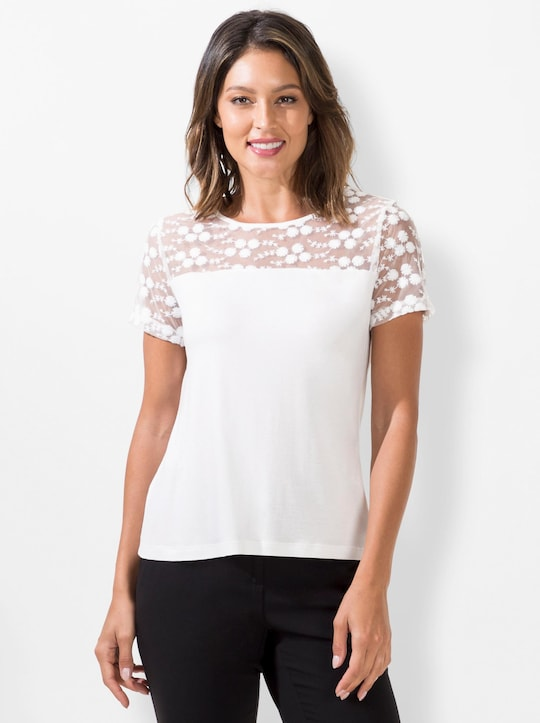 Fair Lady Shirt - ecru