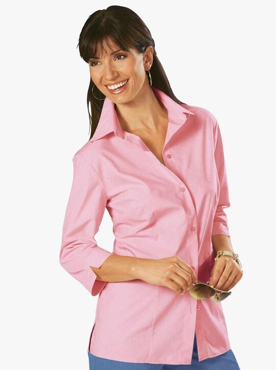 Overhemdblouse - roze