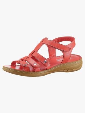 Sandale - rot