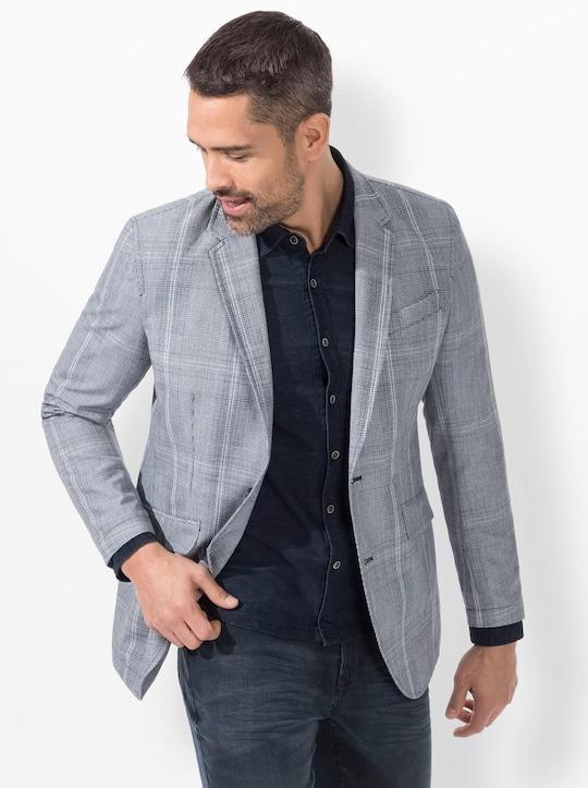 Marco Donati Sakko - hellblau-kariert