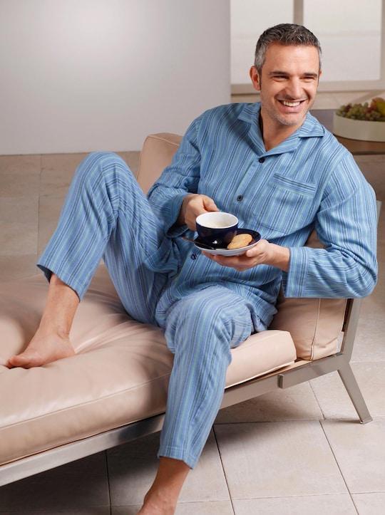 Comte Pyjama - blau-gestreift