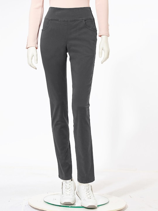 Collection L Jeans - anthrazit