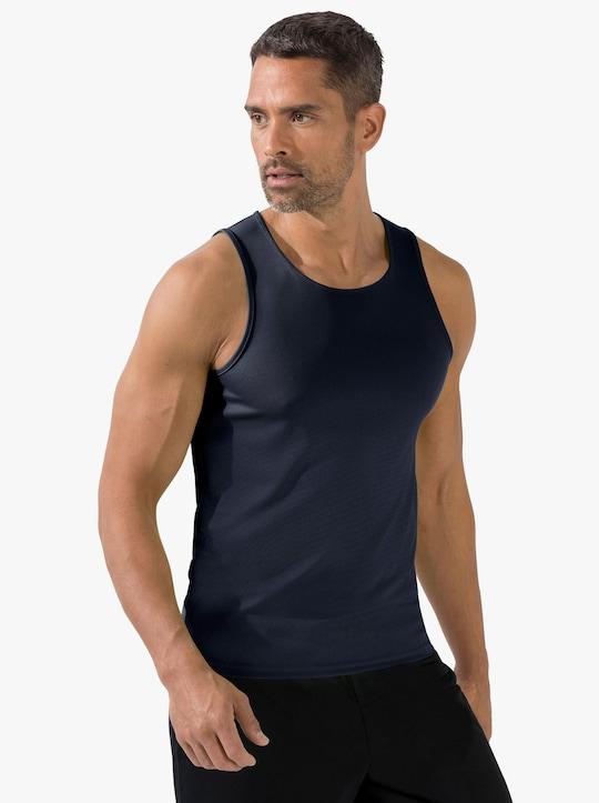 Fruit of the Loom Pánské sportovní tričko - námořnická modrá