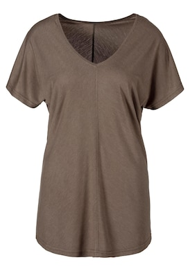LASCANA T-Shirt - taupe