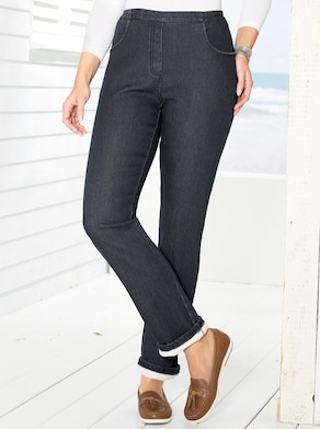 Thermo-Jeans - black-denim