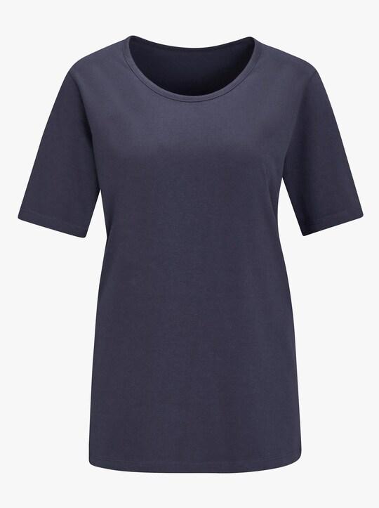 Pyjama-Shirt - nachtblauw