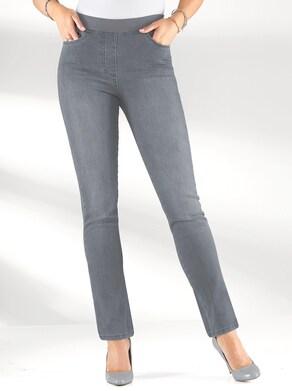 Jeans - grey-denim
