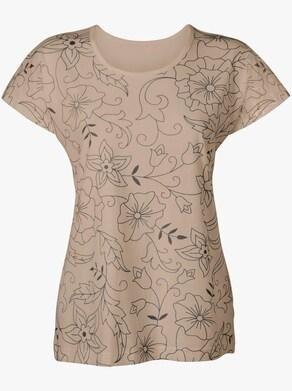 Tričko - béžová