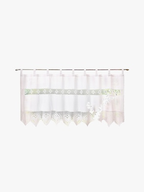 Fensterbehang - weiß