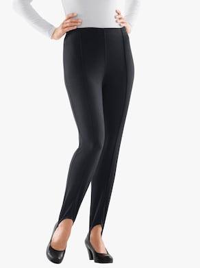 Šponovky - čierna