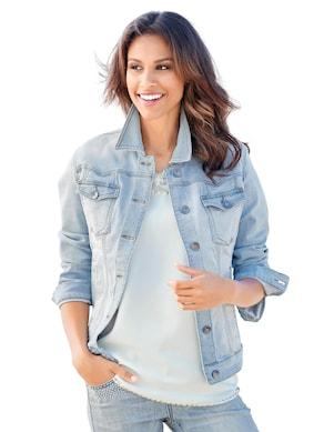 Linea Tesini Jeans-Jacke - bleached