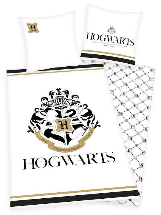 Harry Potter Bettwäsche - weiß-bedruckt