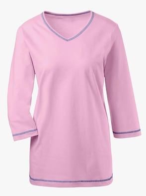 Schlafanzug-Shirt - rosé