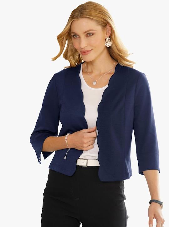 Shirtbolero - nachtblau