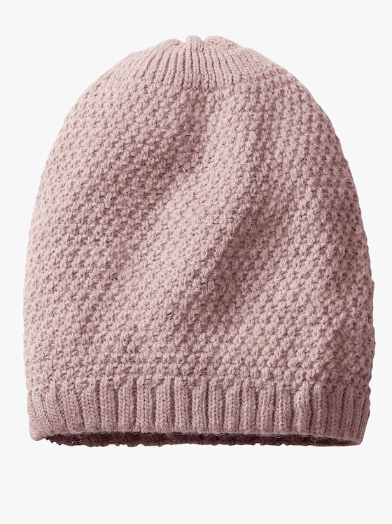 Mütze - rosé
