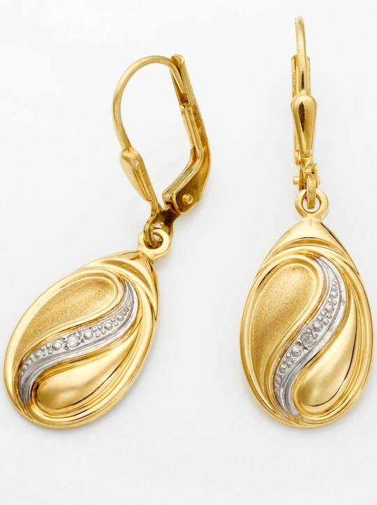 Ohrhänger - Gelbgold 375