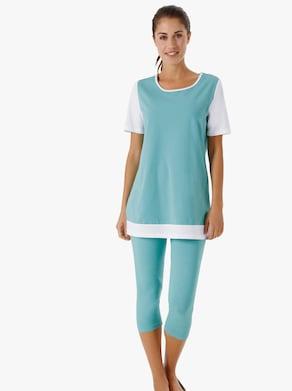Capri-legging - turquoise
