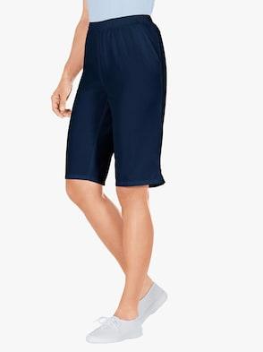 Bermuda-Jeans - marine