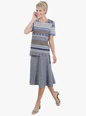 Kjol - jeansblå