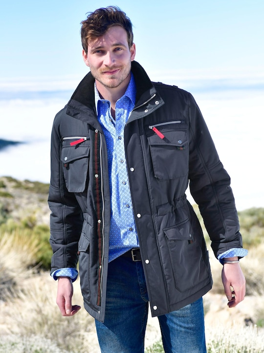 Marco Donati Sympatex-Jacke - marine