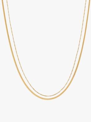 Set - Silber vergoldet 925