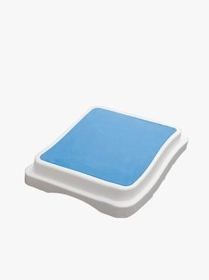 Stufeneinstiegshilfe - weiß-blau