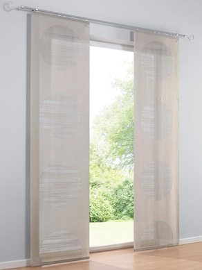 heine home Schiebevorhang - taupe