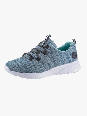 Sneaker - blau-meliert