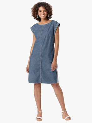 Kleid - blue-stone-washed
