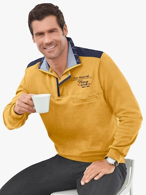 Langarm-Shirt - curry
