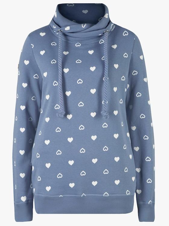 Sweatshirt - lichtblauw