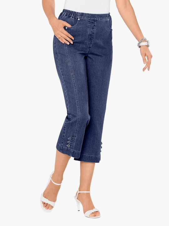 7/8-jeans - blue-stonewashed