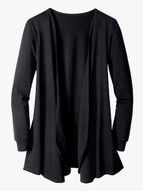Shirtjasje - zwart