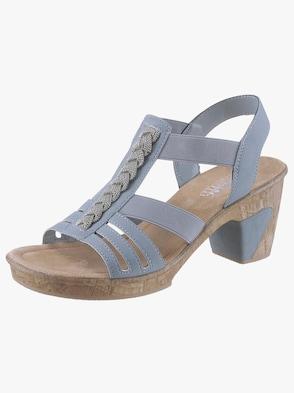 Sandalette - hellblau