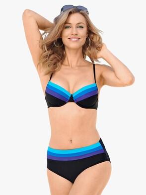 Bikini - schwarz-blau