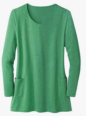 Lang shirt - groen