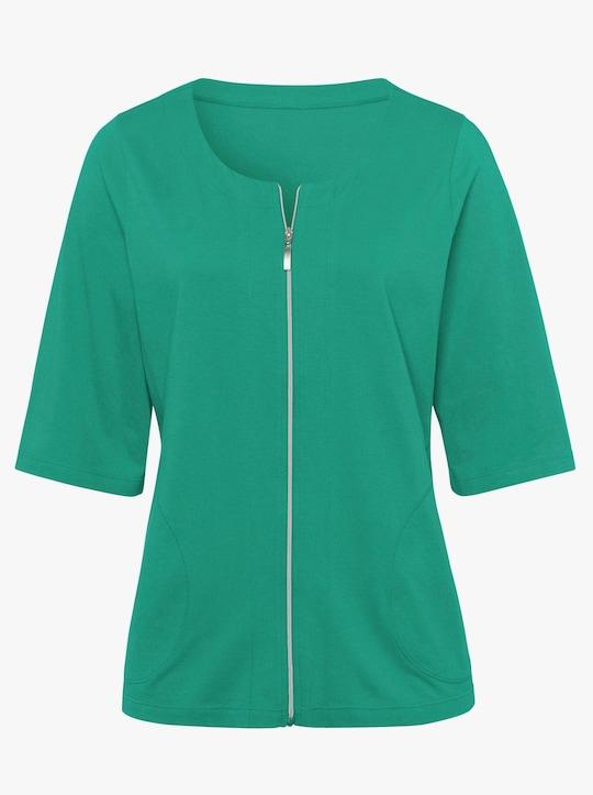 Shirtjacke - grün