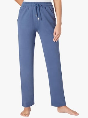 Hose - jeansblau
