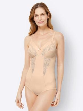 wäschepur Body ohne Bügel - creme