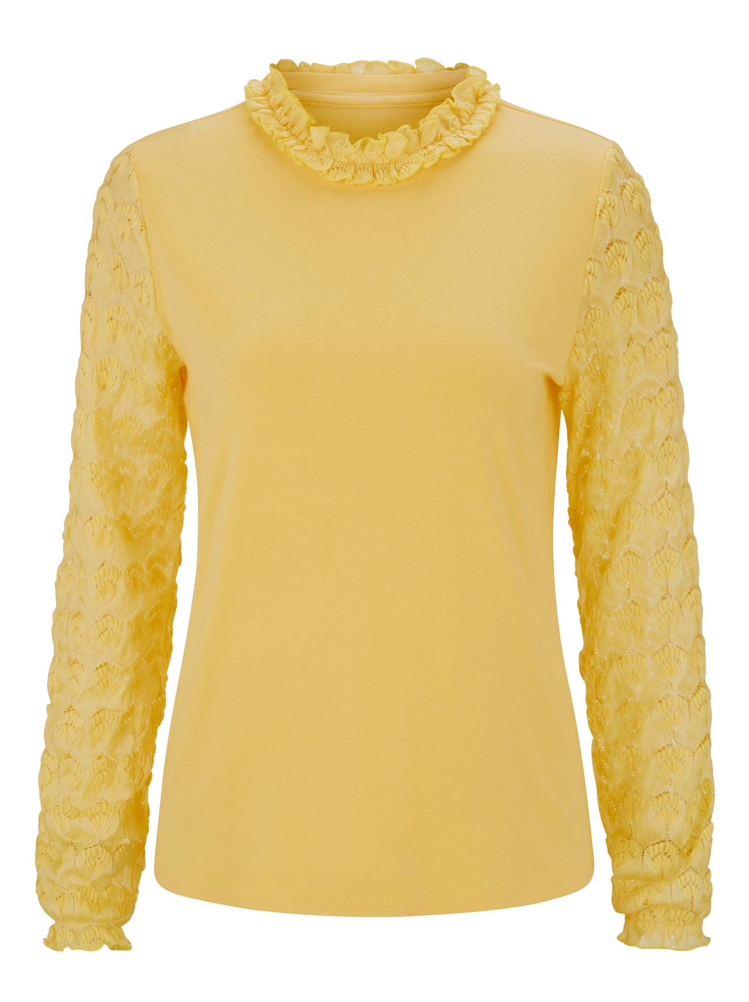 linea tesini - Witt Weiden Damen Shirt gelb