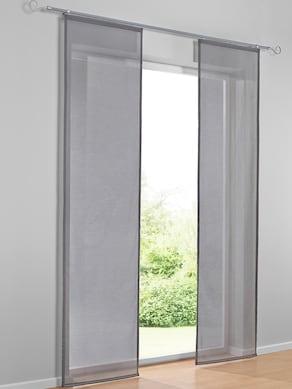 heine home Schiebevorhang - grau