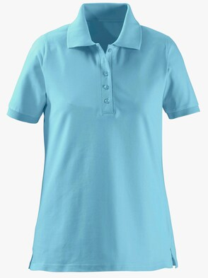 Poloshirt - aqua