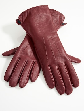 heine Handschuhe - bordeaux