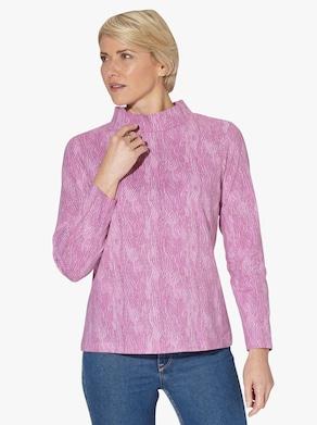 Shirt - altrosa-bedruckt