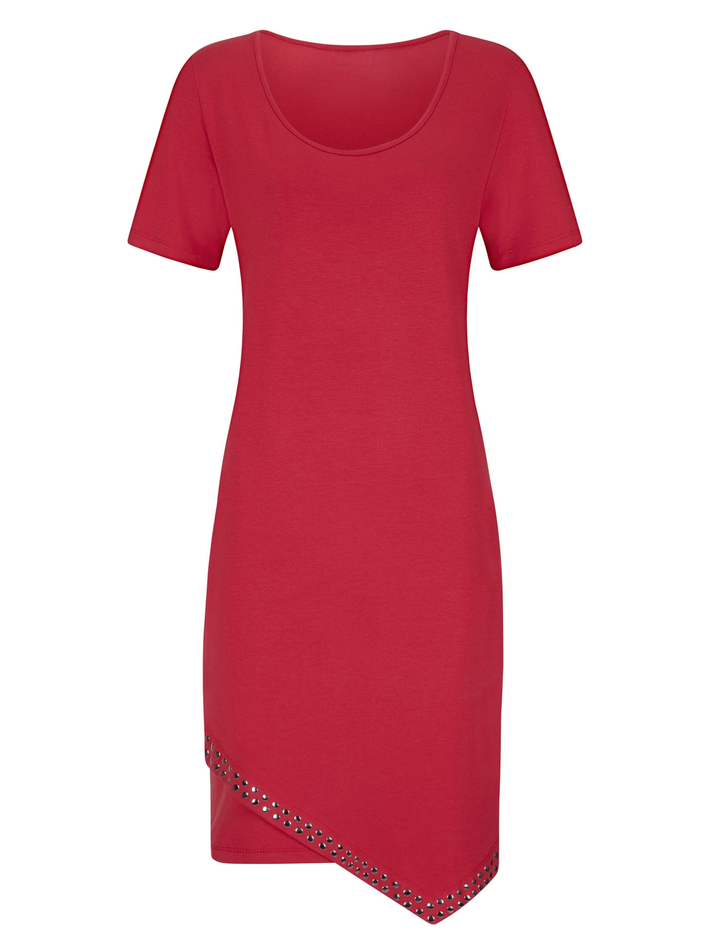 witt weiden -  Damen Jersey-Kleid erdbeere