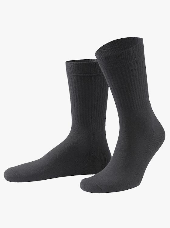 wäschepur Športové ponožky - čierna