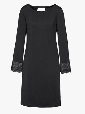 Jersey-Kleid - schwarz