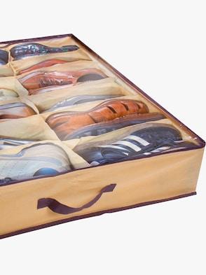 Unterbett-Schuhkommode - braun