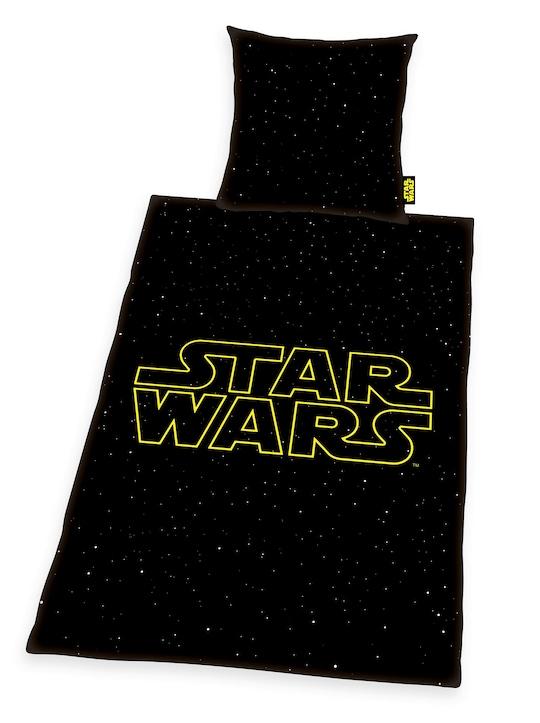 Star Wars Bettwäsche - schwarz-bedruckt